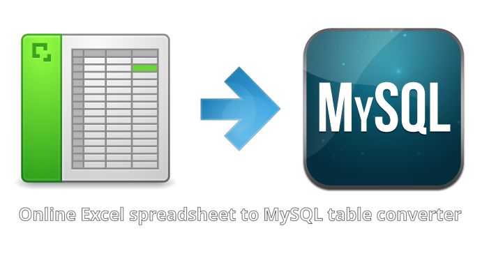 Excel to MySQL – Web Tools +